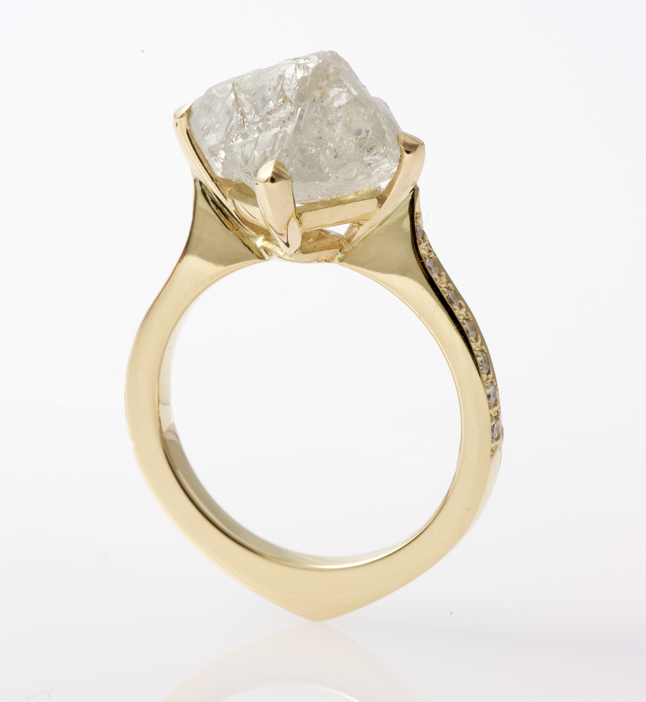18ct Yellow Gold Bepsoke Ring